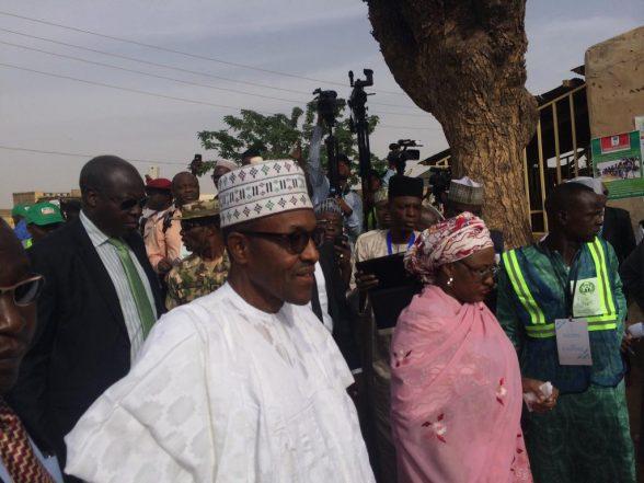 Tight Security In Jos As Buhari Visits Plateau