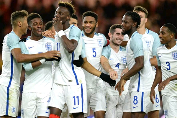 After Nigeria Snub, Abraham Demoted To England U-21s; Lookman, Solanke, Ejaria Invited