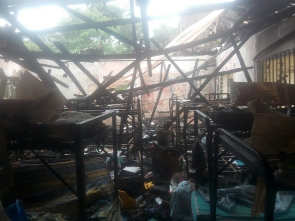N15m Lost To Charcoal Iron Fire In Anambra School