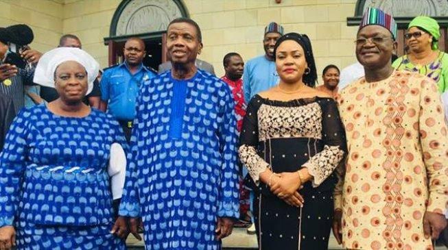 Adeboye, Wife Condoles Benue Over Killings