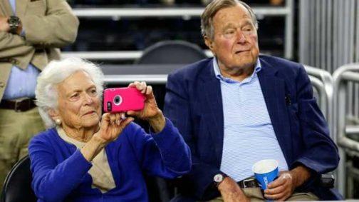 Critically Ill Ex-US First Lady Barbara Bush Snubs Hospital