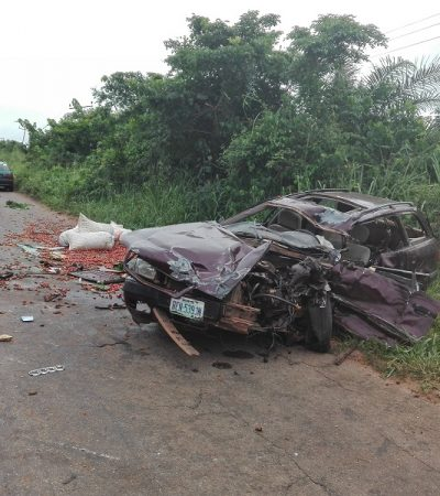 3 Killed In Car Accident In Anambra