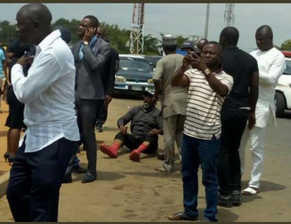 [Video] Dino Melaye's Arrest