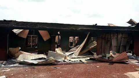 Army Burn Down Benue Community In Search Of Missing Colleague