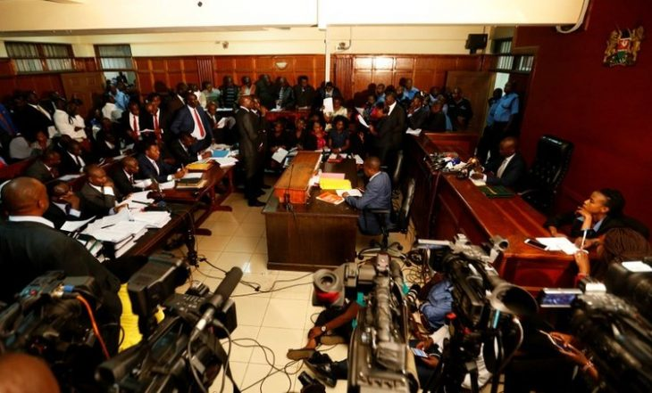 Kenya civil servants brought to court in handcuffs to face theft charges