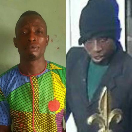 Police Capture Most Wanted Offa Armed Robbers