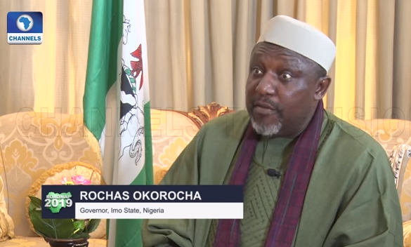 Image result for Okorocha sacks Son-in-law, Uche Nwosu, others