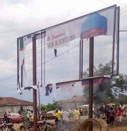 APC Petitions IGP, DG DSS Over Destruction Of Fayemi's Billboard