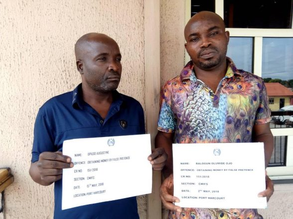 EFCC Arrests Two Fraudsters for N31m Scam