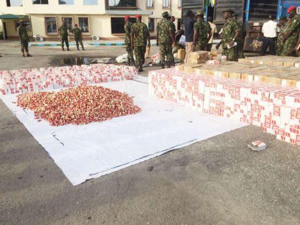 Army Intercepts 3 Trucks With 300,000 Live Cartridges