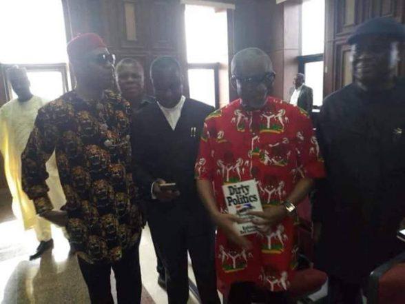 Justice Binta Nyako Sends Sen. Abaribe Back To DSS Custody
