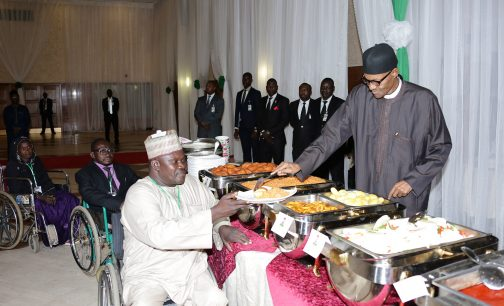 Buhari Breaks Fast With Traditional, Religious Leaders At Aso Rock
