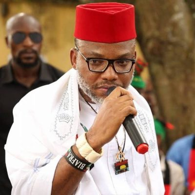 'Nnamdi Kanu's Sureties Never Applied To Withdraw Their Suretyship'
