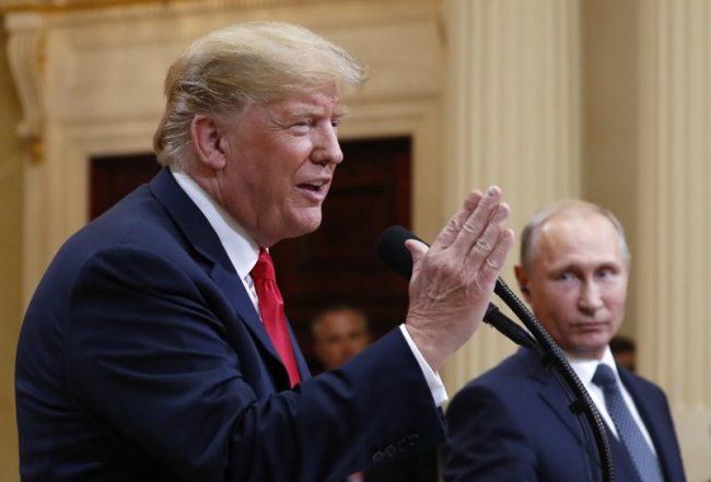 Trump Says He Misspoke On Russia Meddling