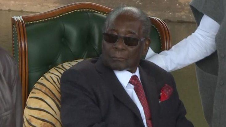 Zimbabwe's Robert Mugabe refuses to back successor Mnangagwa in election