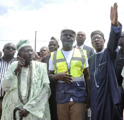 Minister Flags Off Hometown Road Rehabilitation Project