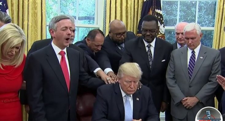 Secret recording catches Trump instructing pastors to campaign for Republicans from the pulpit