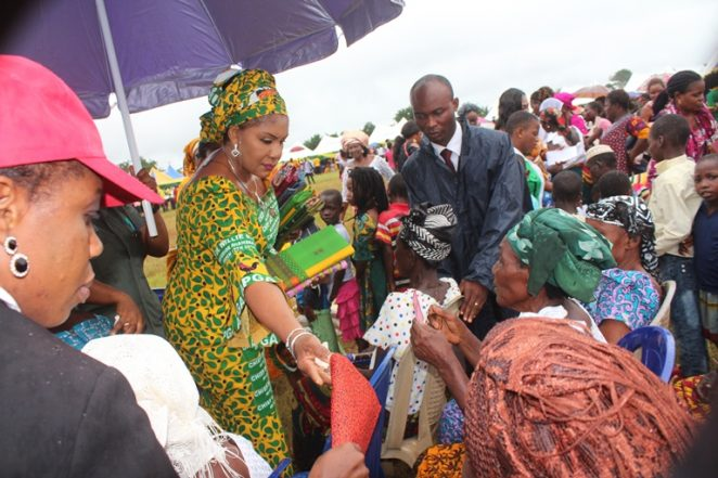 Mrs Obiano Thanks Anambra East For Massive Welcome