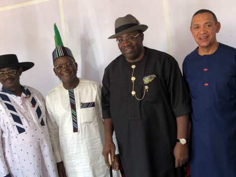 Impeachment: Secondus, PDP Governors Visit Ortom