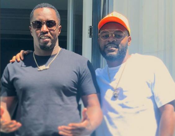 Falz meets American rapper, Diddy