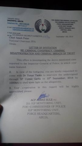 Police IG Orders Arrest Of IPAC Chairman After The Defeat Of Pro Buhari Candidate Chekwas Okorie