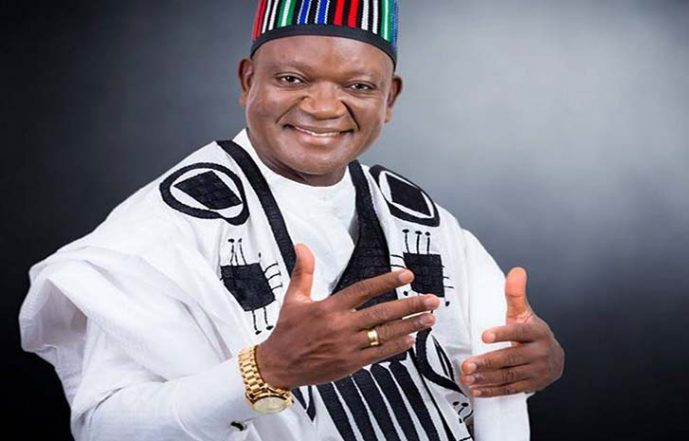 Ortom Picks PDP Nomination Form, Thanks Supporters