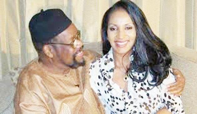 Dim Odimegwu Ojukwu and Bianca.