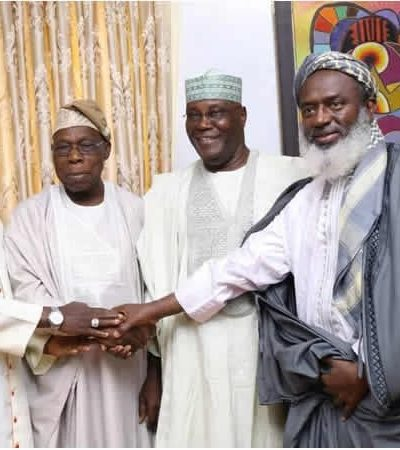 Images From Atiku's Visit To Obasanjo