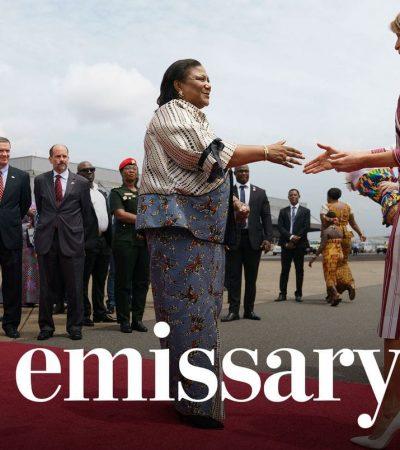 Melania carries Trump's baggage in Africa