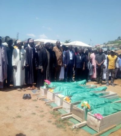 Martyrs Killed At Zuba By The Army Laid To Rest