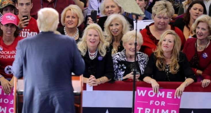 Female Trump voters reveal why they still stand behind him: 'I have a love for this man that's not normal'