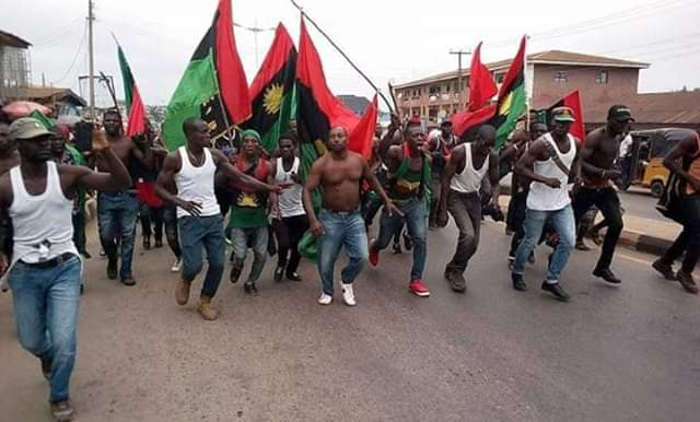 """""""We Marched Today In Celebration Of Nnamdi Kanu's Reappearance"""" – IPOB"""