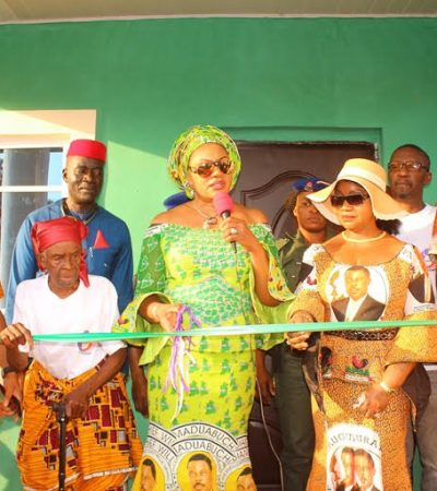 Mrs Obiano Gives Out Four More Houses To Widows