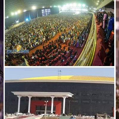 Jonathan, Oyedepo, Osinbajo Attends Dedication Of Largest Church Auditorium In The World In Abuja