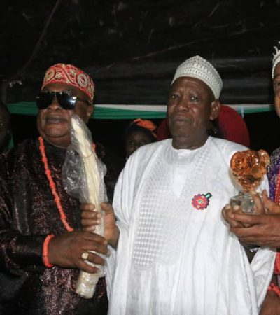 Abia Community Confers Buhari With Chieftaincy Title