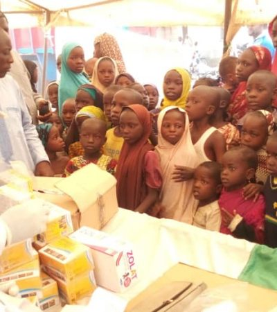 Ortom Support Group Deworms 4000 Children, Targets 20,000 More In Benue