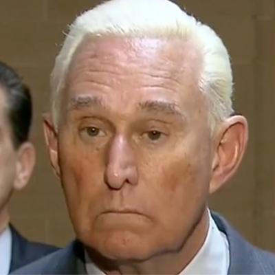Trump mocked for 'taking a knee' in protest of Roger Stone's arrest: 'It's incredibly ironic'