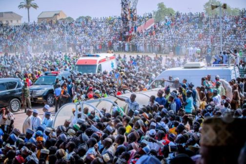 Hoodlums Disrupt APC's Rally In Benue