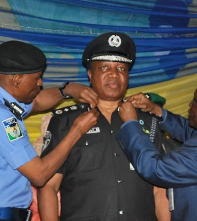 Decoration And Inauguration Of Seven Members Of The IGP's Management Team