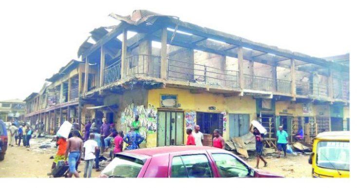 Tears As Mystery Fire Razes Shops, Goods In Onitsha Market