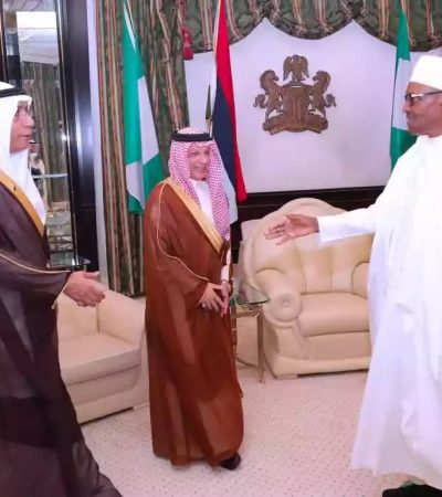'Saudi Delegation Brought Cash To Fund Buhari's Election'