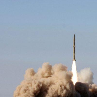Iran Displays Long-Range Cruise Missile To Celebrate Islamic Revolution