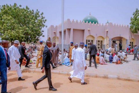 Dumurkul, Buhari's Village Gets New Mosque
