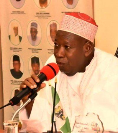 NGE: Ganduje Hails Egbomode's, T/Wada's Election, Charges Media On Nation's Security Threat
