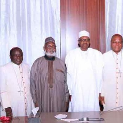 Peace Committee Meets With Buhari, Conveys PDP's Concerns