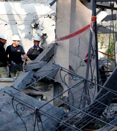 Israel strikes Hamas targets in Gaza in response to rocket attack