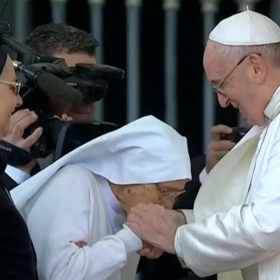 Pope Francis Reveals Why He Refused To Let People Kiss His Ring