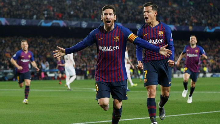 Barcelona Reach Champions League Semi-Finals With Messi Exhibition Against Manchester United