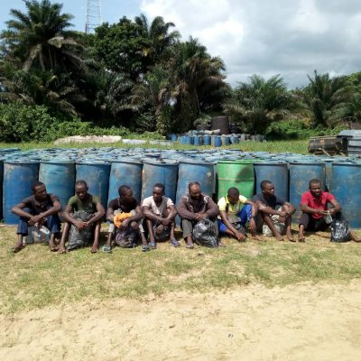 Navy Hands Over Suspected Oil Thieves To EFCC