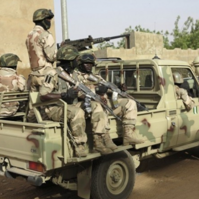 Army destroys 500 drums of adulterated diesel, 2 cars